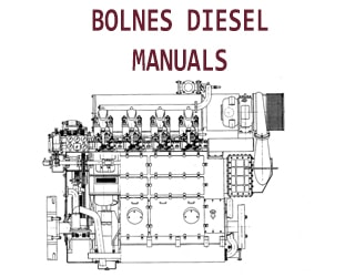 PDF Manuals and Parts Catalog for BOLNES engine
