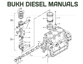 PDF Manuals and Parts Catalog for BUKH engine