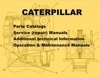 PDF Manuals and Parts Catalog for CATERPILLAR engine