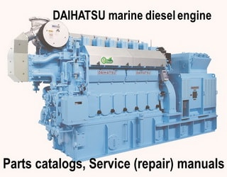PDF Manuals and Parts Catalog for DAIHATSU engine
