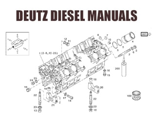 PDF Manuals and Parts Catalog for DEUTZ / MWM engine