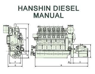 PDF Manuals and Parts Catalog for HANSHIN engine