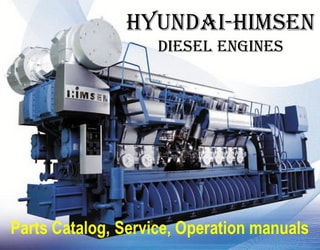 PDF Manuals and Parts Catalog for HYUNDAI-HIMSEN engine
