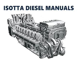 PDF Manuals and Parts Catalog for ISOTTA engine
