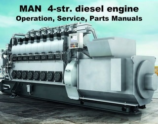 PDF Manuals and Parts Catalog for MAN B&W 4-str. engine