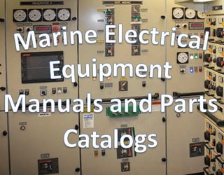 PDF Manuals and Parts Catalog for Marine Electrical Equipment