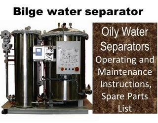 PDF Manuals and Parts Catalog for Bilge water separator