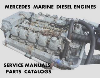 PDF Manuals and Parts Catalog for MERCEDES MARINE engine