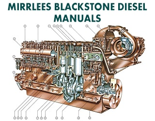 PDF Manuals and Parts Catalog for Mirrlees Blackstone engine