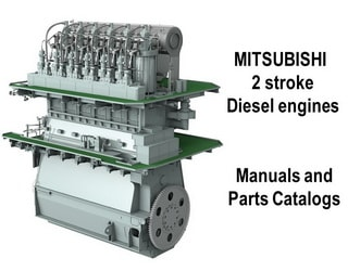 PDF Manuals and Parts Catalog for MITSUBISHI 2-str. engine