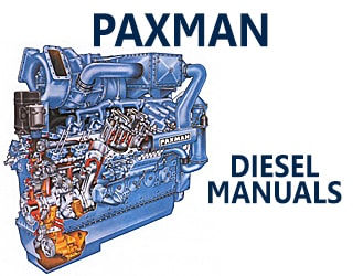 PDF Manuals and Parts Catalog for PAXMAN engine