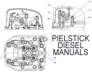 PDF Manuals and Parts Catalog for PIELSTICK engine