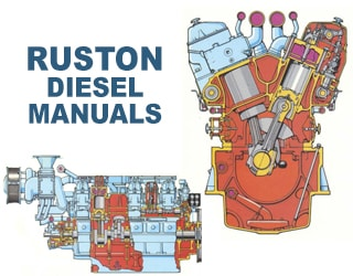 RUSTON diesel engine spare parts