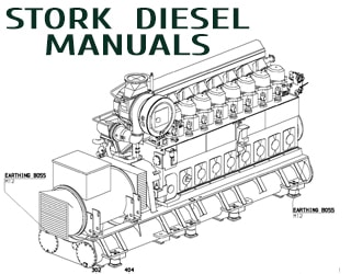 PDF Manuals and Parts Catalog for STORK engine