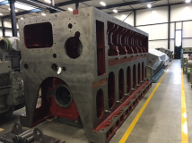 MAK 6M43 Engine Block