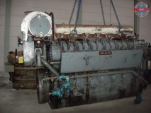 MAN 12V20/27 Complete Diesel Engine and spares
