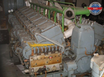 MAN R8V16/18 Complete Diesel Engine and spare
