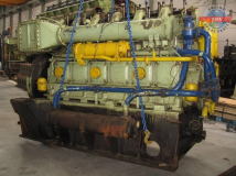 Wartsila 624 TS Complete Diesel Engine and spare