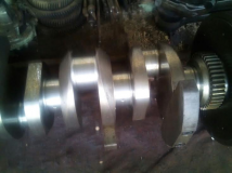 MAN B&W 8L20/27 std. size Crankshaft for sell
