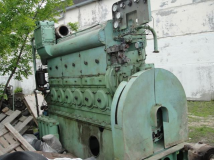 CHN 25/34 Pervomaysk diesel engine (without generator with shields)