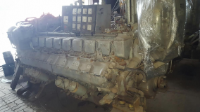 MTU 16V 396 Complete Diesel Engine with ZF BU750 GearBox