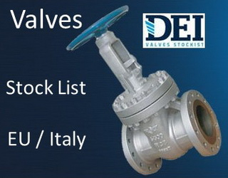 marine valves stock list PDF